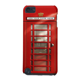 British Red Telephone Box Personalized iPod Case iPod Touch (5th Generation) Cases