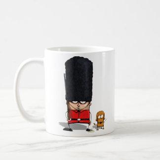 British Royal Guard and Dog Funny Mug