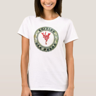 british sea weeds tee