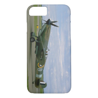 British Spitfire, Camouflage, Taxiing_WWII Planes iPhone 8/7 Case