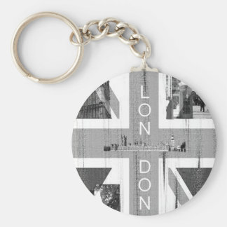 British Union Jack Flag Key Ring
