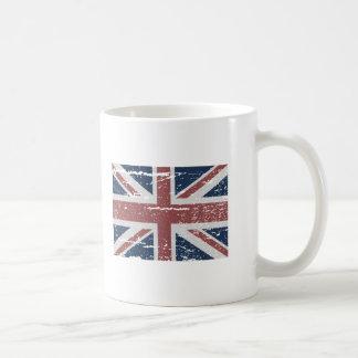 BRITISH UNION JACK BASIC WHITE MUG