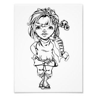 Brittani the Dwarf Princess Print Photographic Print