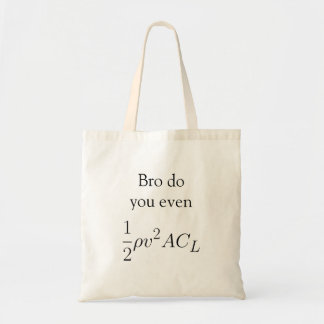 Bro do you even lift (force) budget tote bag