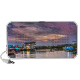 Broadway at the Beach Sunset PC Speakers