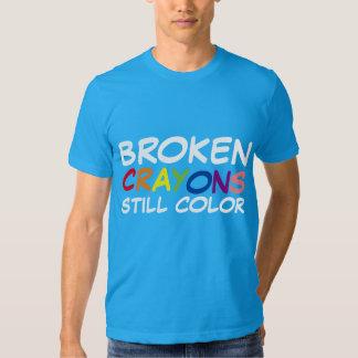 BROKEN CRAYONS STILL COLOR T SHIRTS