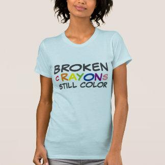 BROKEN CRAYONS STILL COLOR T-SHIRTS