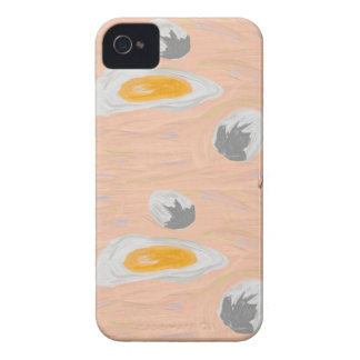 Broken Egg iPhone 4 Cover