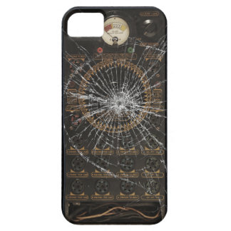 Broken Glass - Vintage Radio Barely There iPhone 5 Case