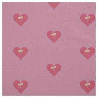 broken heart healed by patch fabric