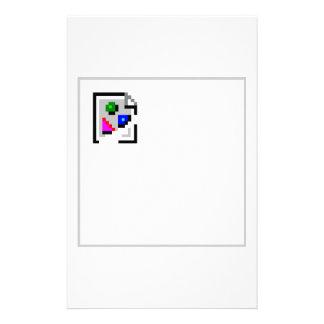 Broken Image JPG JPEG GIF PNG Customized Stationery