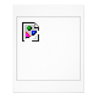 Broken Image JPG JPEG GIF PNG Personalized Flyer