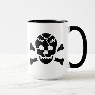 Broken Skull Mug