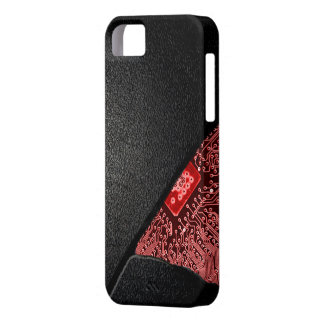 Broken Tech Case- RED Glow Case For The iPhone 5