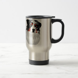 Bronco Aussie Stainless Steel Travel Mug