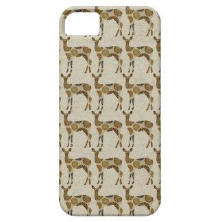 Bronze Blooms Deer Silhouette iPhone 5 Covers