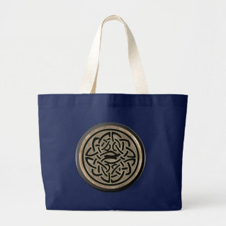 Bronze Celtic Knot Tote Bag