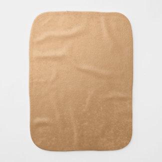 Bronze Foil Printed Burp Cloth