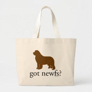 Bronze Newfoundland got newfs? Bag