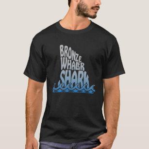 Bronze Whaler Shark Fin Trendy T-Shirt Fishing