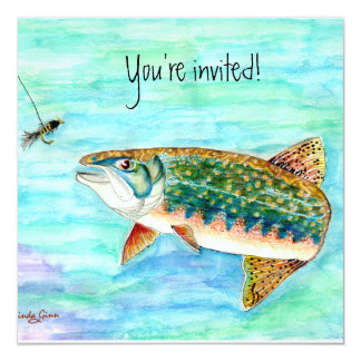 Brook Trout Invitation