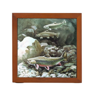 Brook Trout Pencil Holder
