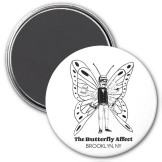 Brooklyn BA Round Magnet