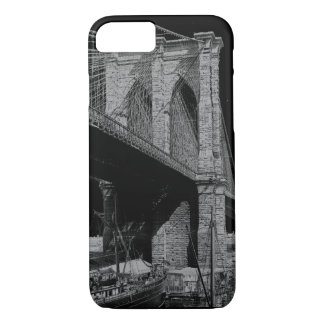Brooklyn Bridge 1896 waterfront iPhone 8/7 Case