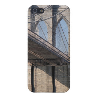 Brooklyn Bridge and Manhattan Skyline iPhone 5/5S Covers