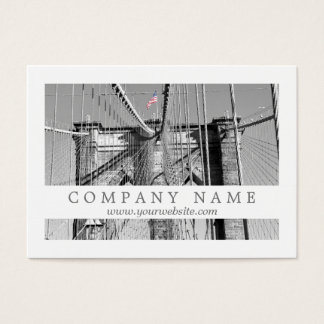 Brooklyn Bridge Business Card