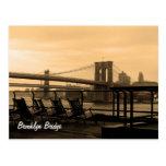 Brooklyn Bridge (customise it!) Postcard