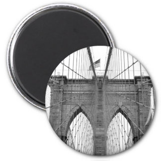 Brooklyn Bridge in New York City Magnet