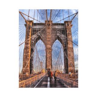 Brooklyn Bridge, New York Gallery Wrap Canvas