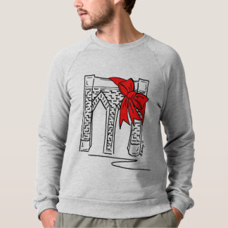 Brooklyn Bridge New York NYC Christmas Sweatshirt