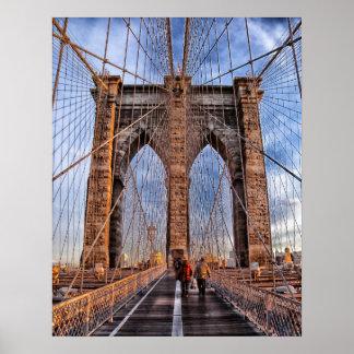 Brooklyn Bridge, New York Print