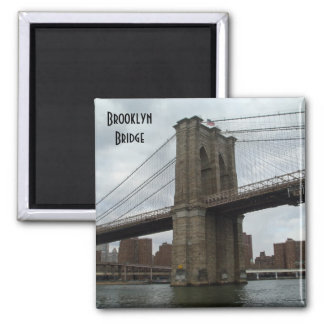 Brooklyn Bridge Photo Magnet New York