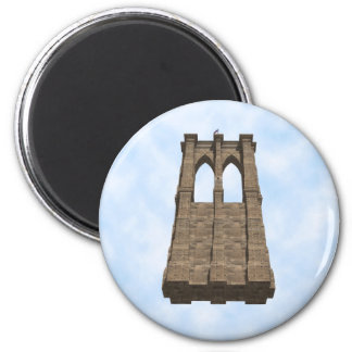 Brooklyn Bridge Pillar: 3D Model: Magnet