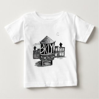 Brooklyn Water tower Baby T-Shirt