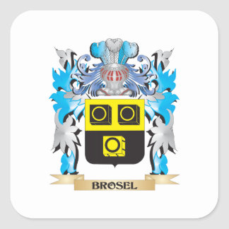Brosel Coat of Arms Sticker