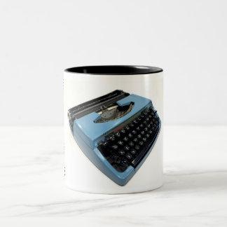 Brother Charger 11 typewriter Two-Tone Coffee Mug