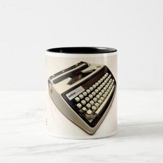 Brother Echelon 55 typewriter Two-Tone Mug