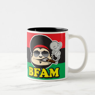 Brother From Another Mother Two-Tone Coffee Mug