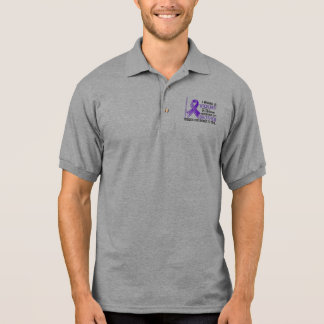 Brother Means World To Me 2 H Lymphoma Polo Shirt