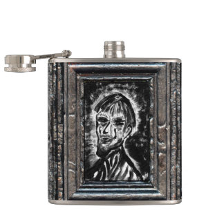 Brother of Grief Hip Flask