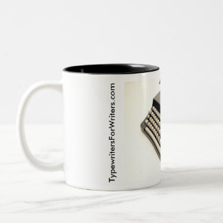 Brother Valiant typewriter Two-Tone Coffee Mug