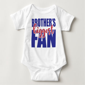 Brother's Biggest Fan Baby Bodysuit Football Baby