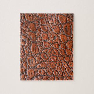 Brown Alligator - Animal Print Jigsaw Puzzle