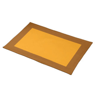 Brown and Orange Placemat