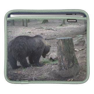 Brown bear sleeves for MacBook air