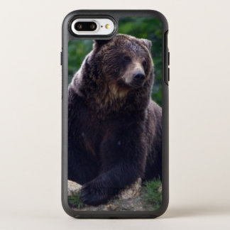 Brown bear OtterBox symmetry iPhone 8 plus/7 plus case